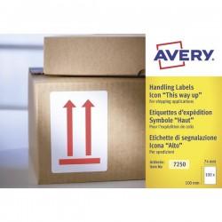 """Etichette in rotolo per spedizioni Avery - """"Alto"""" - 74x100mm - 200"""