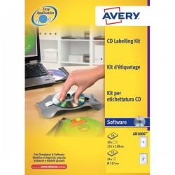Kit per personalizzazione CD/DVD Avery