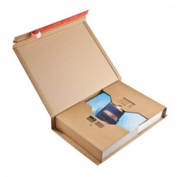 Scatole postali Colompac - avana - 45,5x32x70 cm - 51x33x8,5 cm (conf.20)