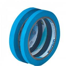 Nastro adesivo per chiusura sacchetti Syleco Syrom - 9mm x 66 m - azzurro