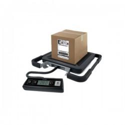 Bilancia pesapacchi Rubbermaid - 100 kg - 200 g - 41x40x5 cm - nero