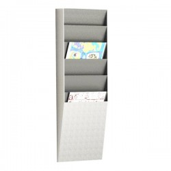Modulo Smistamento Corrispondenza Paperflow - Verticale - 23,6x8,3x71,2 cm - 6 - A4V1x6.02