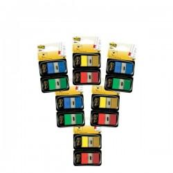 Post-it® Index 680 - segnapagina - blu, giallo, rosso, verde (conf.10+2)