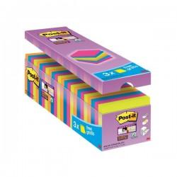 Foglietti Post-It® Super Sticky Value Pack Colore - 76x76 mm (Conf.24)
