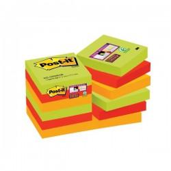 Foglietti Post-it® Super Sticky Marrakesh Post-It - 47,6x47,6 mm (conf.12)