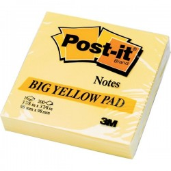 Post-it® Note Large Pad - giallo canary - neutra - 200