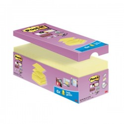 """Foglietti Post-it® Super Sticky a """"Z"""" Value Pack - 76x76 mm - giallo Canary™ (conf.20)"""