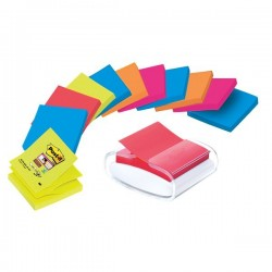 Dispenser Ricaricabile Per Foglietti Post-It® Z-Notes Pro Colore - 76x76 cm - Pro-W-12Sscol-R330