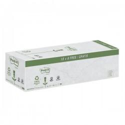 Foglietti Post-it® Notes in carta riciclata giallo Value Pack - 76x76 mm - giallo (conf.24)