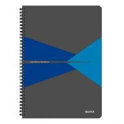 Blocchi in cartoncino Office Leitz - A4 - 5 mm - 90 - blu