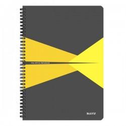 Blocchi in cartoncino Office Leitz - A4 - 5 mm - 90 - giallo