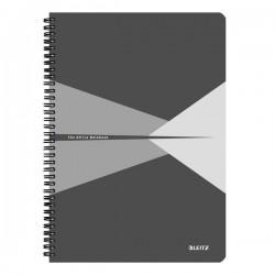 Blocchi in cartoncino Office Leitz - A4 - 5 mm - 90 - grigio