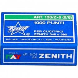 Punti universali Zenith - Punti metallici 130/Z6 (6/6) (conf.1000)