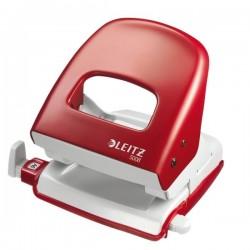 Perforatore Leitz 5008 - rosso pastello