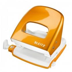 Perforatore Leitz 5008 - arancione metallizzato - 5008-10