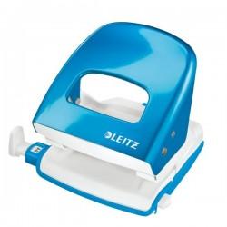 Perforatore Leitz 5008 - azzurro metallizzato