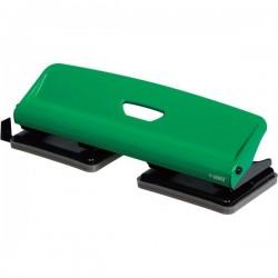 Perforatore a 4 fori fissi Lebez - verde/nero