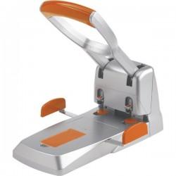 Perforatore Supreme HDC 150 Rapid - 2 fori - grigio/arancione