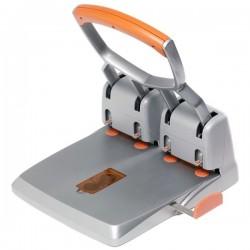 Perforatore Supreme HDC 150 Rapid - 4 fori - grigio/arancione