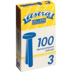 Fermacampioni Astra Leone Dell'Era - N 3 - 17 mm (conf.100)