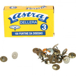 Puntine ad 1 punta Astra Leone Dell'Era - 12 mm (conf.100)