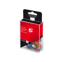 Push pins assortite 5 Star - traslucido (conf.100)