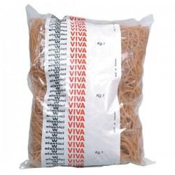 Elastici in gomma naturale Viva - 80 mm (conf.1000)