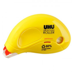 Colle Roller usa e getta Dry&Clean UHU - 8,5 m - permanente - D1671/D1672