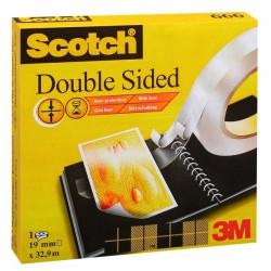 Nastro biadesivo Scotch® 665 - Rotolo - 12 mm x 33 m