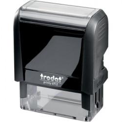 Timbri autoinchiostranti Printy 4.0 ECO Trodat - Printy 4910 4.0 - 26x10 mm - 3 - nero