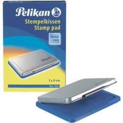 Cuscinetti inchiostrati per timbri Pelikan - blu - n° 2 - 7x11 cm