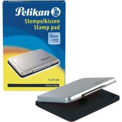 Cuscinetti inchiostrati per timbri Pelikan - nero - n° 2 - 7x11 cm