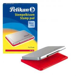 Cuscinetti inchiostrati per timbri Pelikan - rosso - n° 2 - 7x11 cm
