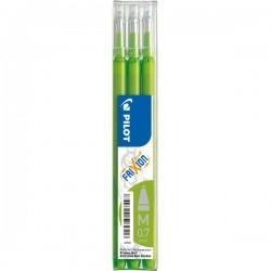 Refill per penna a sfera cancellabile Frixion Ball Pilot - verde chiaro (conf.3)