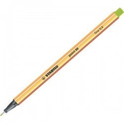Fineliner Point 88 Stabilo - verde foglia - 0,4 mm (conf.10)