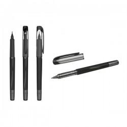 Penna punta fibra 0.8mm nera 5 Star 961078