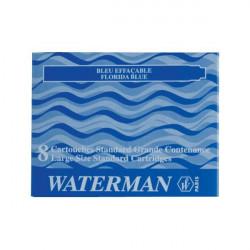 Cartucce standard per stilografica Waterman - blu (conf.8)