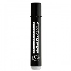 Marcatore Tratto Marker - a scalpello - nero - 1- 5 mm (conf.12)