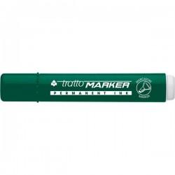 Marcatore Tratto Marker - a scalpello - verde - 1- 5 mm (conf.12)
