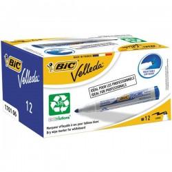 Promo pack Velleda Marker 1701 + Velleda Liquid Ink Pocket Bic - blu (conf.12)