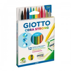 Pastelli a cera Giotto Strong 3 in 1 Giotto (conf.12)