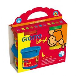 Colori a dita Giotto Bebè - 150 ml (conf.4)