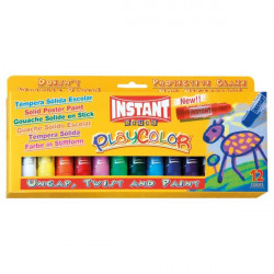 Tempera solida Playcolor Maped - da 3 anni (conf.12)