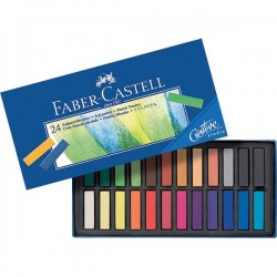 Creta Soft Pastel Creative Studio Faber Castell - assortiti (conf.24)