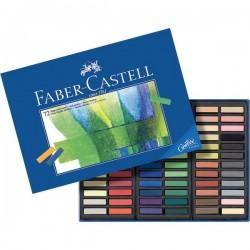 Creta Soft Pastel Creative Studio Faber Castell - assortiti (conf.72)