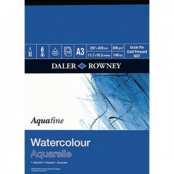 Blocco acquafine Daler-Rowney - A4
