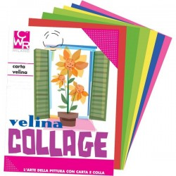 Carta Velina CWR - 50x76 cm - rosa - 21 g/mq (conf.24)
