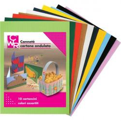 Cartone Ondulato Cannetè CWR - 50x70 cm - Assortiti (conf.10)