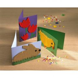 Cartone Ondulato Cannetè CWR - 50x70 cm - arancio (conf.10)