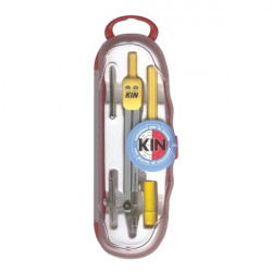 Kit compassi Studio Koh-l-Noor - kit 5 pz - L 133 mm